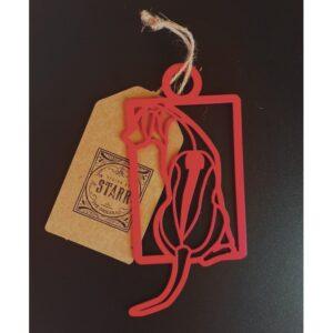 PRINTADOG_Ornament_Ridgeback_square_Red